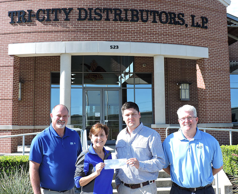 Check Presentation: Tri-City Distributors